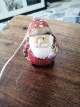 Salero papá Noel navideño