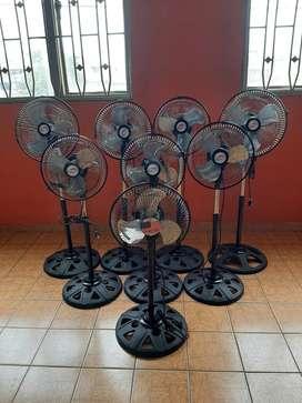 Ventilador Piso de 10'' desde 60mil Nuevos calefactores y electrodomesticos