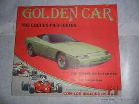 Figuritas Golden Cars Toy Crom venta y canje