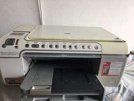 Impresora hp con detalle
