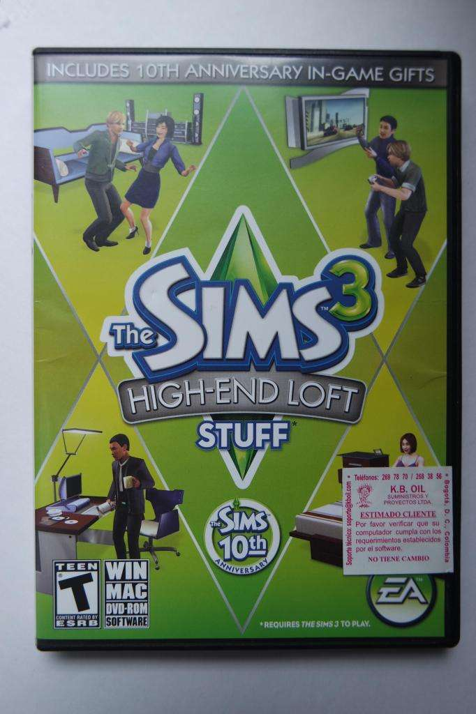 The Sims 3 extensión High End Loft para PC 0
