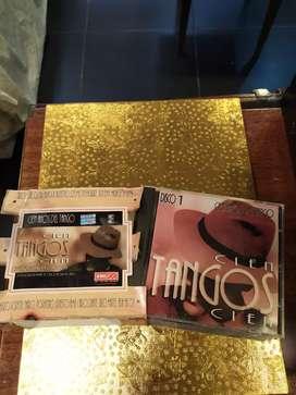 Coleccion de tangos en 5 cds