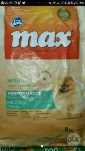 Max Adulto Razas Pequeñas X 8 Kilos