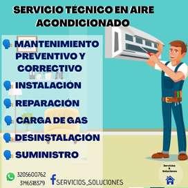 Servicios técnicos de Aires acondicionados