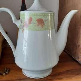 Cafetera en Porcelana