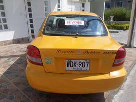 Se vende taxi marca kia rio moldelo 2015