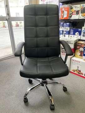 Silla gerencial de oficina reclinable y giratoria