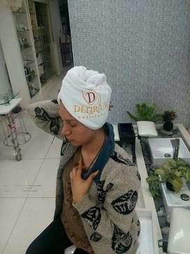 turbantes para salon de belleza hoteles  saunas