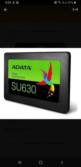 Disco De Estado Solido Ssd 480gb Adata Su630 3d Sata 2.5 Nuevo