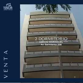 DEPARTAMENTO CENTRICO A ESTRENAR - AV SARMIENTO 258 - DOS DORMITORIOS CON COCHERA Y VISTAS AL FRENTE