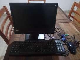 Pantalla teclado mouse