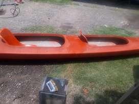 Canoa 2 asientos muy buen estado con remo y salvavidas