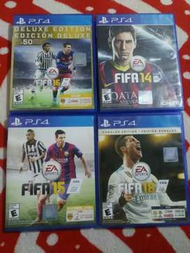 Video juegos ps4