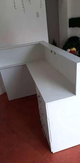 Counter o mostrador escritorio