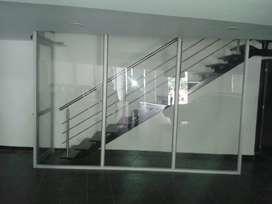 Divicion de Oficina en Aluminio O Acero