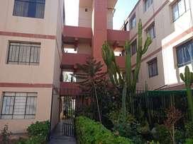 Venta Dpto Residencial Santa Cecilia, 02 dorm + 01 baño + sala comedor + cocina + lavandería
