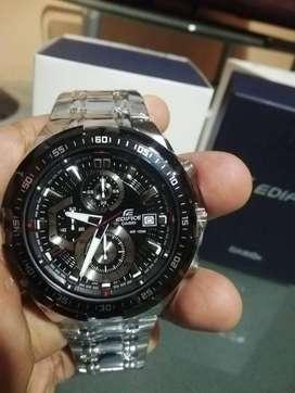 Casio Edifice EFR-539D-1AV Acero Inoxidable Original y Nuevo