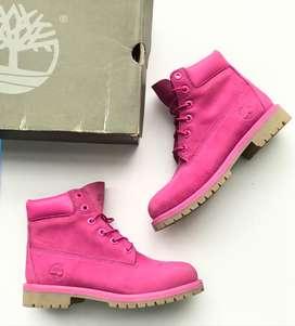 Bota  Junior,s Timberland 6'inch Premium WP Boot Pink A14YQ