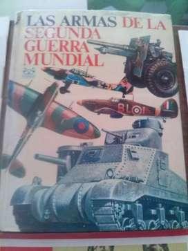 Libro Armas de la segunda guerra mundial Ed Codex