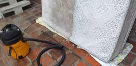 Lavado desinfección y desodorizado de muebles colchones alfombras cortinas peluches cojineria de carro