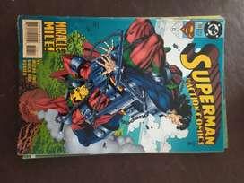 superman in action comic numero 708 en ingles