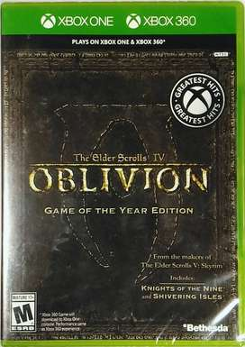 The Elder Scrolls Iv Oblivion (xbox 360 - Xbox One), Físico