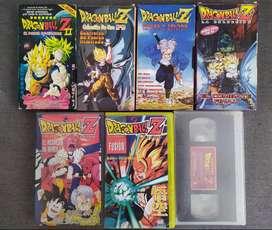 Dragon Ball Z Vhs colección de oro!