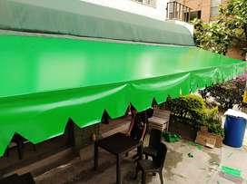 parasoles para negocios y tiendas