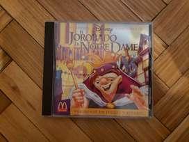 Cd El Jorobado De Notre Dame Disney Soundtrack Mcdonalds