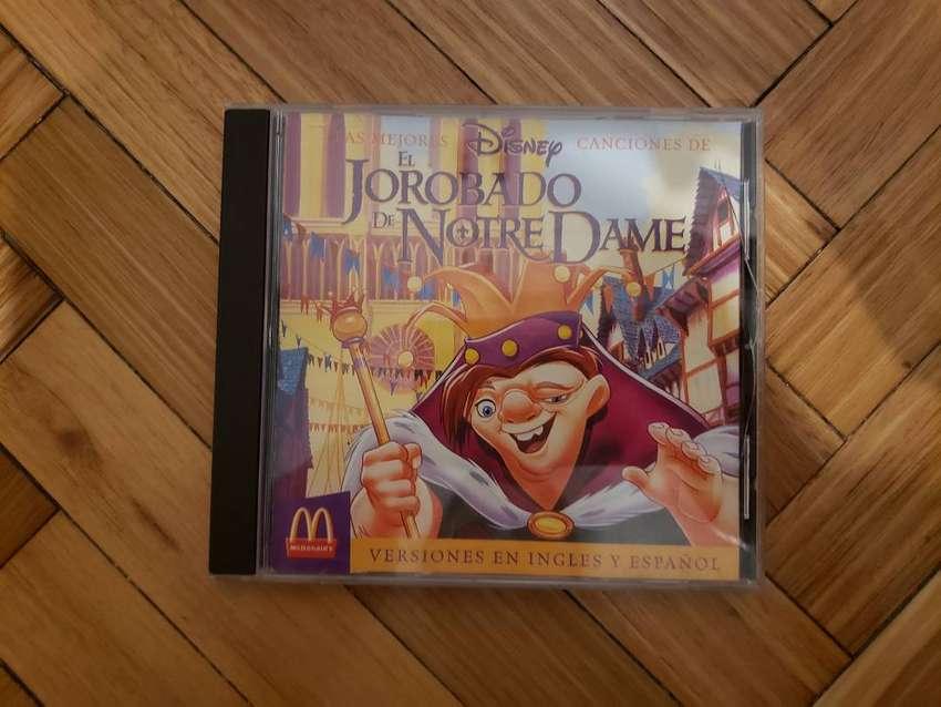 Cd El Jorobado De Notre Dame Disney Soundtrack Mcdonalds 0