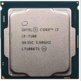 Procesador Core i3-7100 3.90GHZ LGA 1151 PC Setima generacion