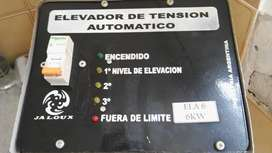 ELEVADOR AUTOMATICO DE TENSION - 6 KWk