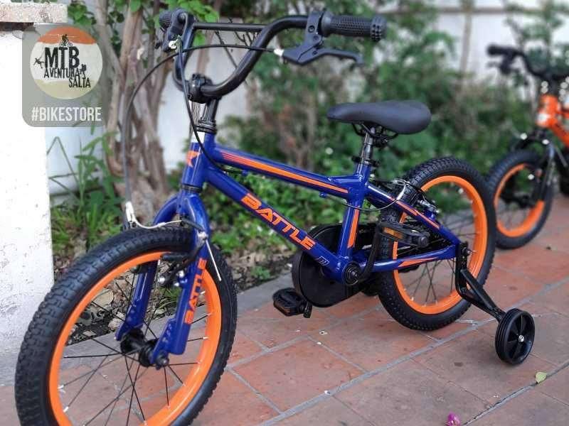 Bicicleta Rodado 16 de Aluminio