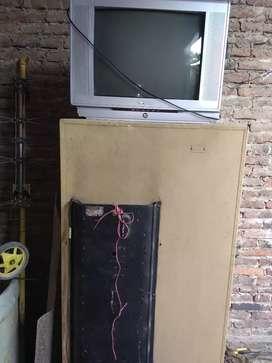 Heladera congelador (Sian) TV 20 pulgadas