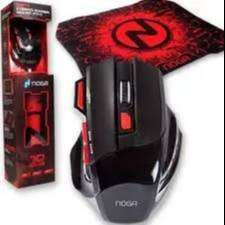 Combo Mouse 7d Pad Antideslizante Gamer Stormer 2 Color Led