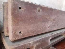 Vigas madera dura ensambladas 3m x 13cm x 20cm