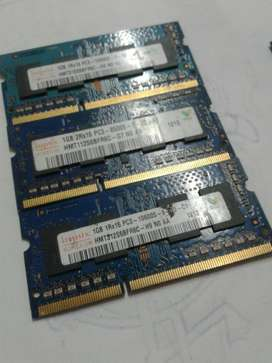 Memoria Ram Ddr3 1gb Pc Portatil