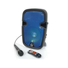 Parlante Cabina De Sonido Sonivox Bluetooth 8 Pulgadas + Microfono
