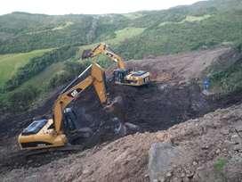 Excavadoras de alquiler