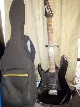 Guitarra zurda Ibanez gio