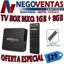 CONVIERTE TU TV A SMART TV BOX MXQ