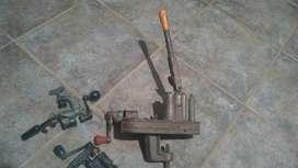 recargadora de cartuchos antigua funcionando