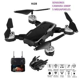 Drone HJRC HJ28 5 mpx 1080P wifi plegable sensores fpv camara HD altitud 20 minutos