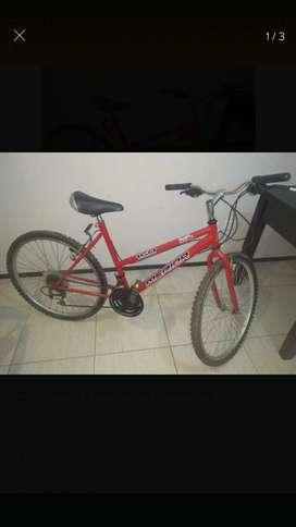 Bicicleta mountain bike medida shimano