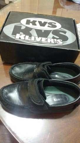 Zapato Colegial de Cuero N 35