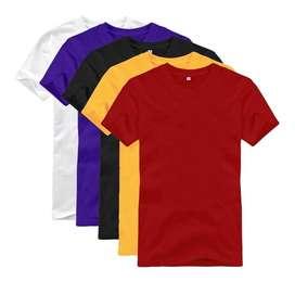 Camisetas llanas