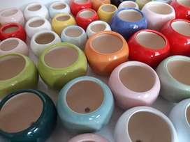 Materas ceramica mini por 5 unidades