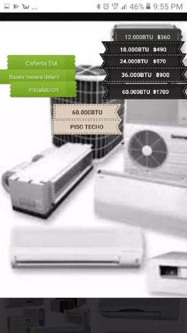 Aires acondicionado mantenimientos instalacion y ventas