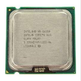 Intel Core2 Duo E6550/caché De 4 M, 2,33 Ghz, Fsb 1333mhz