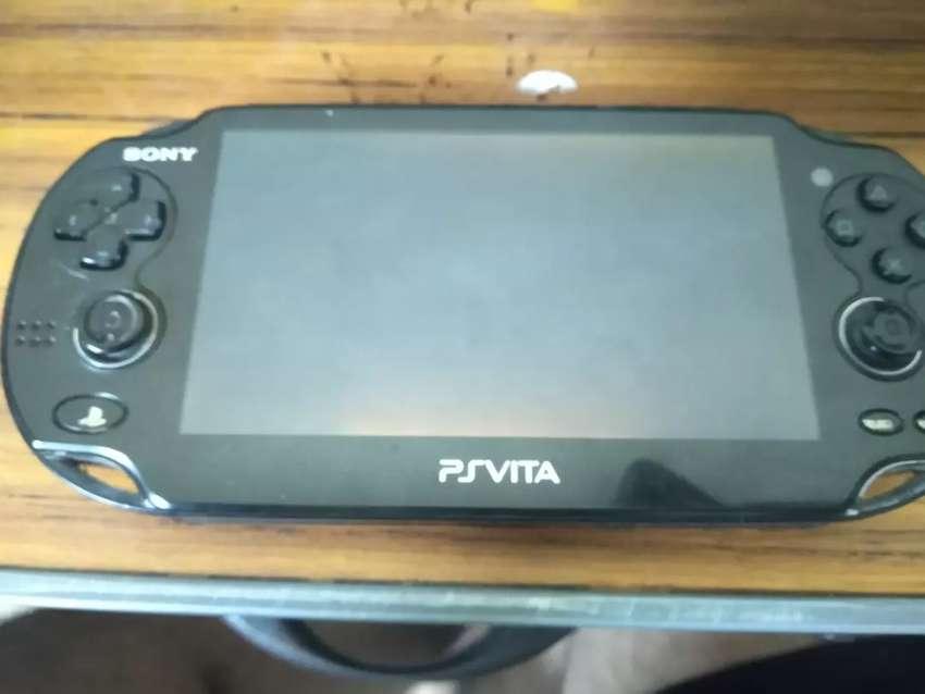 PlayStation Vita Usada, cambio con Wii U 0